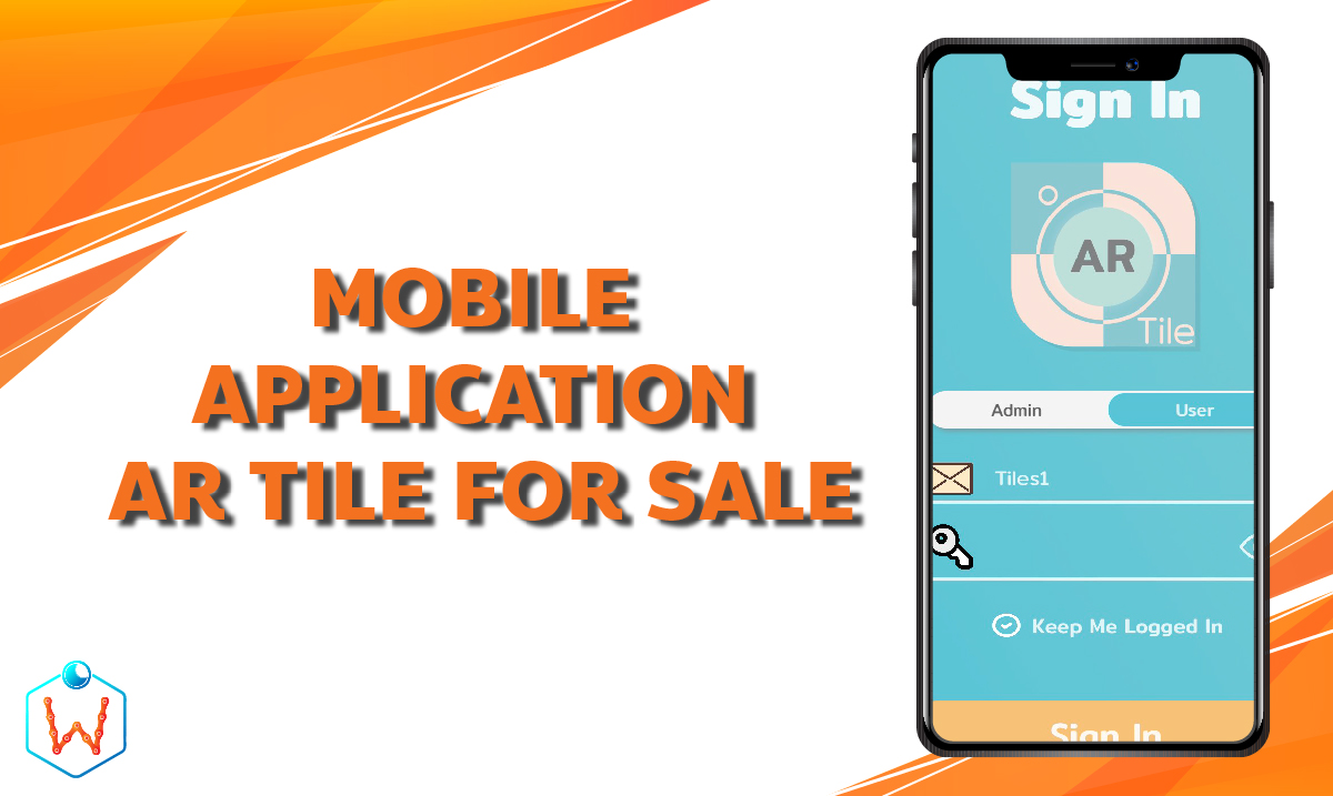 MOBILE APPLICATION AR TILE FOR SALE